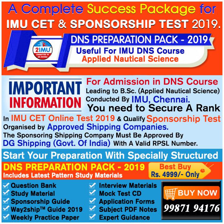 IMU_DNS Preparation Pack_2019